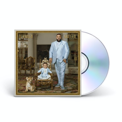 DJ Khaled Grateful Double CD