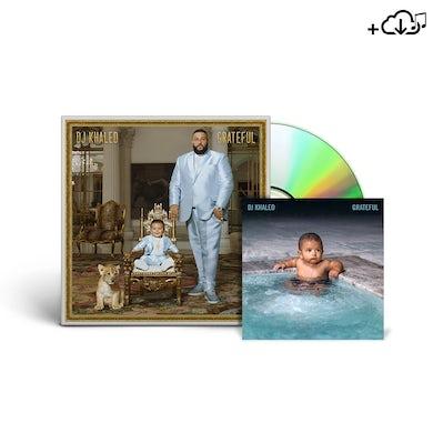 DJ Khaled #GRATEFUL DOUBLE CD + DIGITAL ALBUM