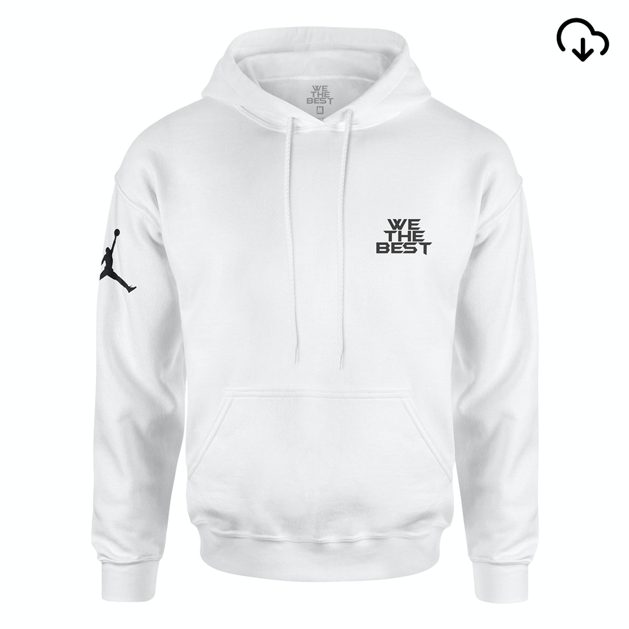 4364f676b44 DJ Khaled. x Jordan Leather Sneakers Hoodie - White + Father of Asahd Album  Download