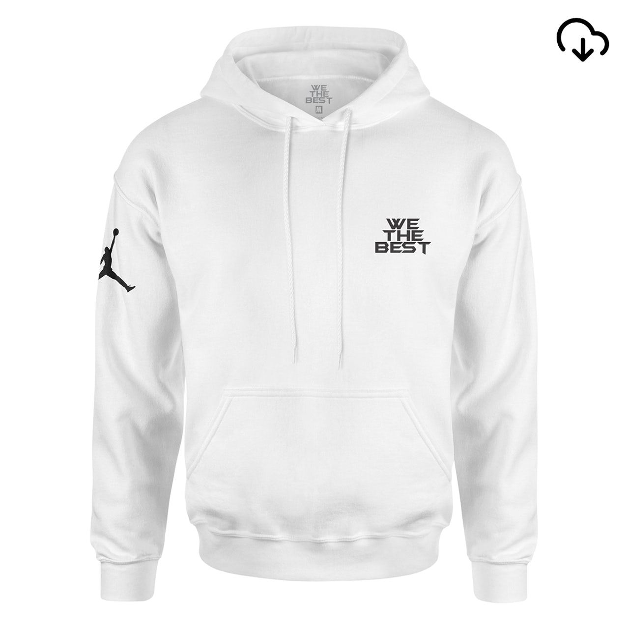 buy popular 3ffd1 b4ed5 DJ Khaled x Jordan Suede Sneakers Hoodie - White + Father of Asahd Album  Download