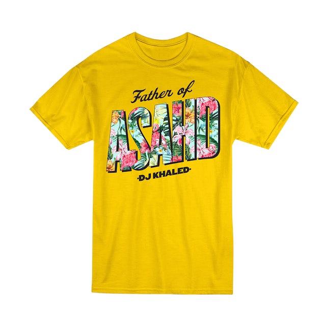 DJ Khaled Father of Asahd Yellow T-Shirt + Father of Asahd Album Download