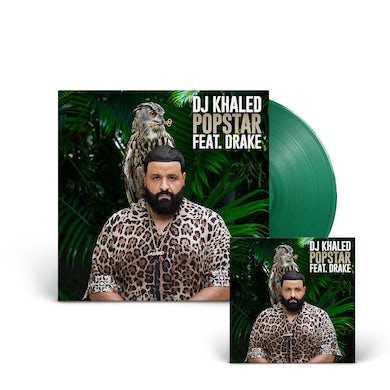 "DJ Khaled ""POPSTAR"" 7"" Green Single LP + Digital Download (Vinyl)"