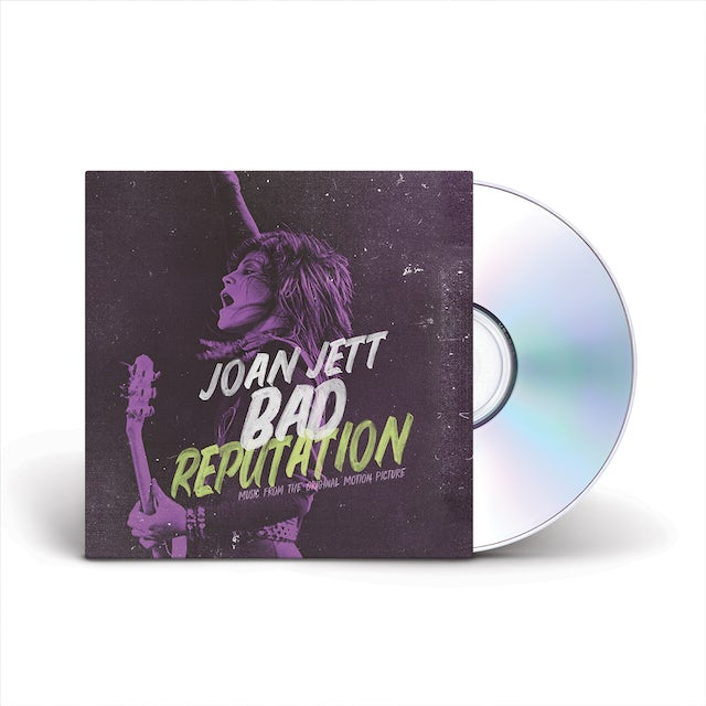 Joan Jett & The Blackhearts Bad Reputation (Music From The Original Motion Picture) CD