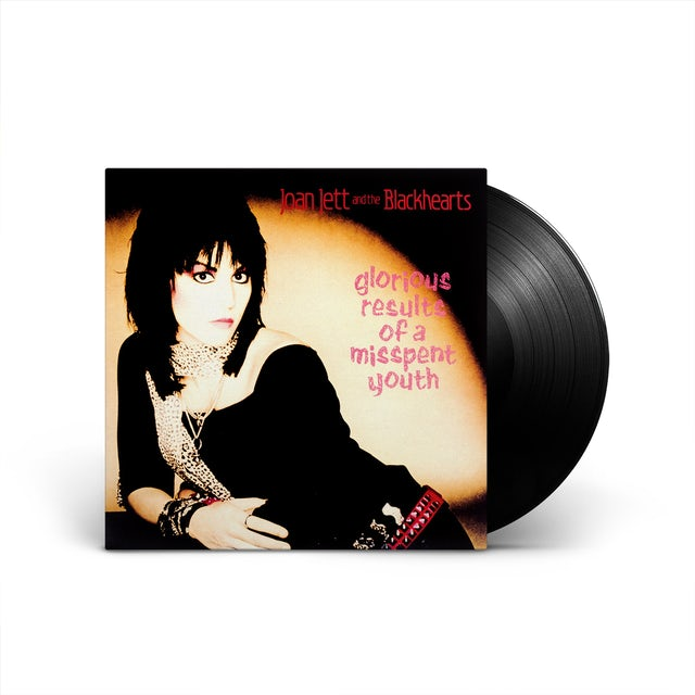 Joan Jett & The Blackhearts Glorious Results of a Misspent Youth Limited Edition LP (Vinyl)