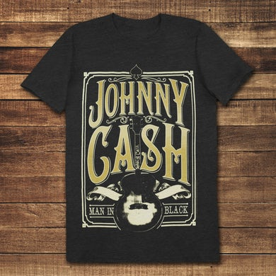 Johnny Cash Signature Guitar T-Shirt