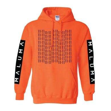 Maluma 11:11 Orange Hoodie