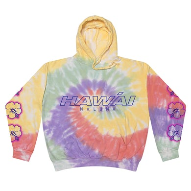 Maluma Hawái Tie Dye Hoodie