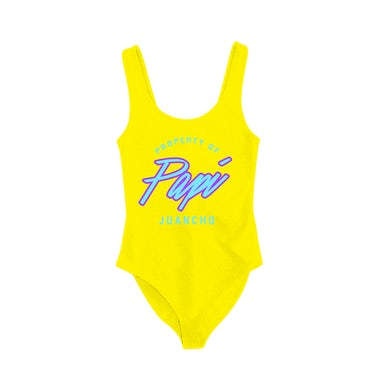 Maluma Papi Juancho Yellow Bodysuit