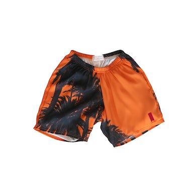 Maluma Sunset Orange Premium Shorts