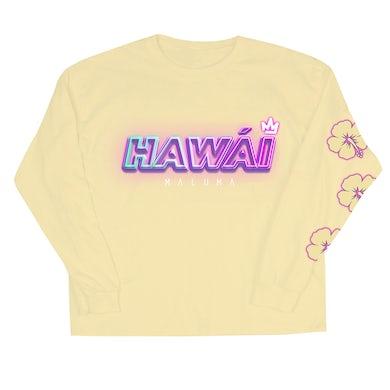 Maluma Hawái Yellow Long Sleeve Tee