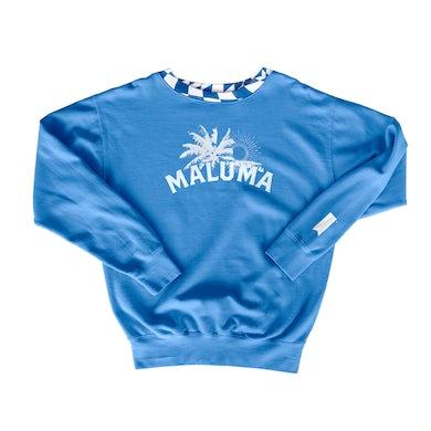 Maluma South Beach Blue Crewneck