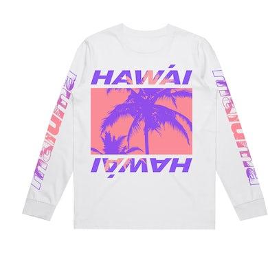 Maluma Hawái White Long Sleeve Tee