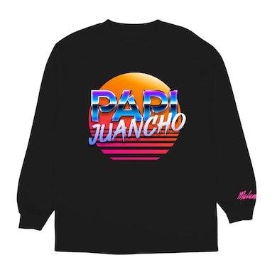 Maluma Papi Juancho Black L/S Tee
