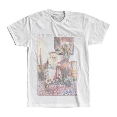 The Sisterhood Band The Sisterhood Distressed White Tour T-shirt