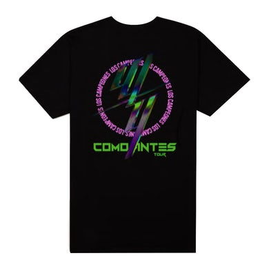 Wisin & Yandel W&Y COMO ANTES BLACK TOUR TEE
