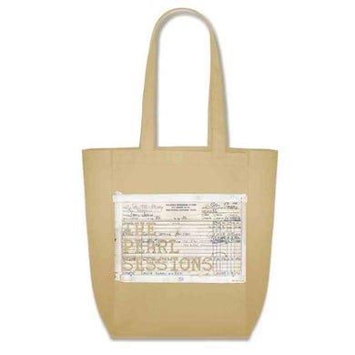 Janis Joplin The Pearl Sessions Tote (White)