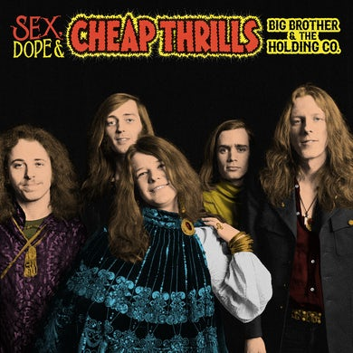 Janis Joplin Sex, Dope and Cheap Thrills 2LP (Vinyl)