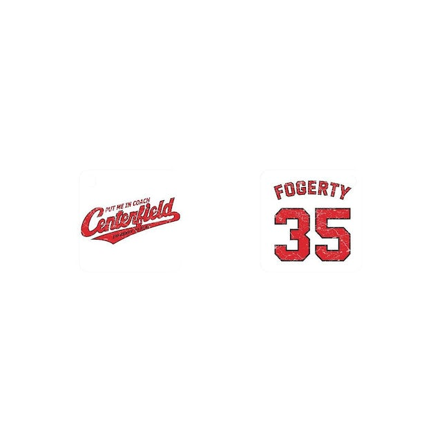 John Fogerty 35th Anniversary Centerfield Keychain