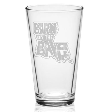 John Fogerty Born On The Bayou Laser-Etched Pint Glass