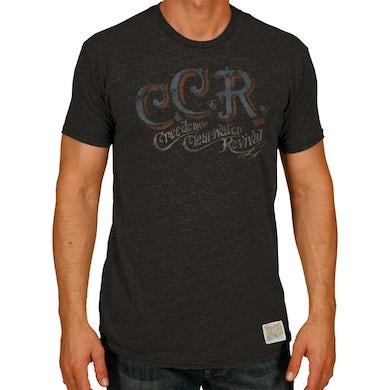 John Fogerty CCR Brush 100% Cotton T-shirt