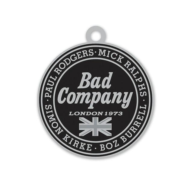 Bad Company Tour Enamel Keychain