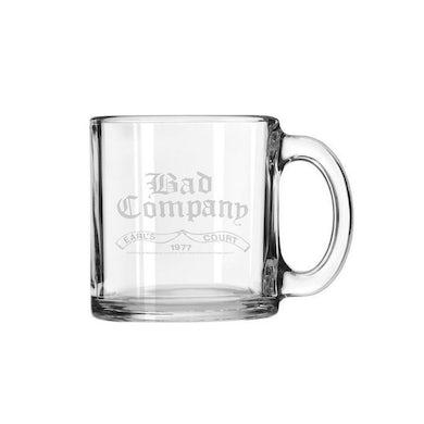 Bad Company Earl's Court 1977 Laser-Etched Mug