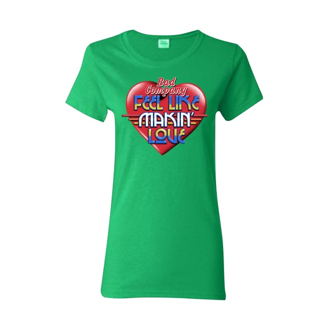 Bad Company Women's Makin' Love Heart Tee
