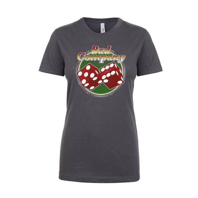 Bad Company Women's Tumbling Dice Tee