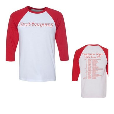 Bad Company Desolation Angels Tour Raglan