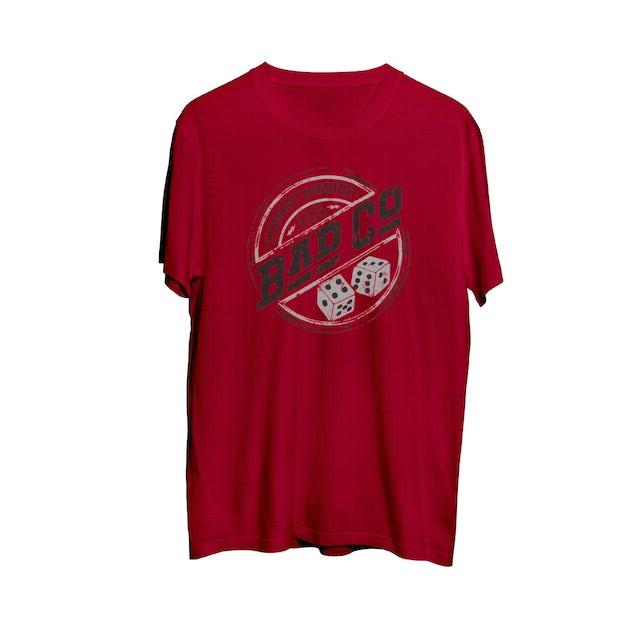 Bad Company Straight Shooter Dice T-shirt