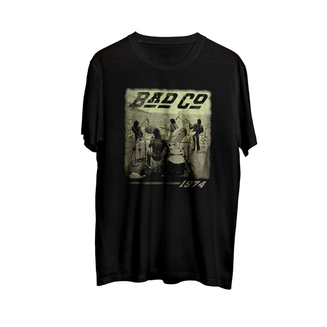 Bad Company Crowd Shot 1974 T-shirt