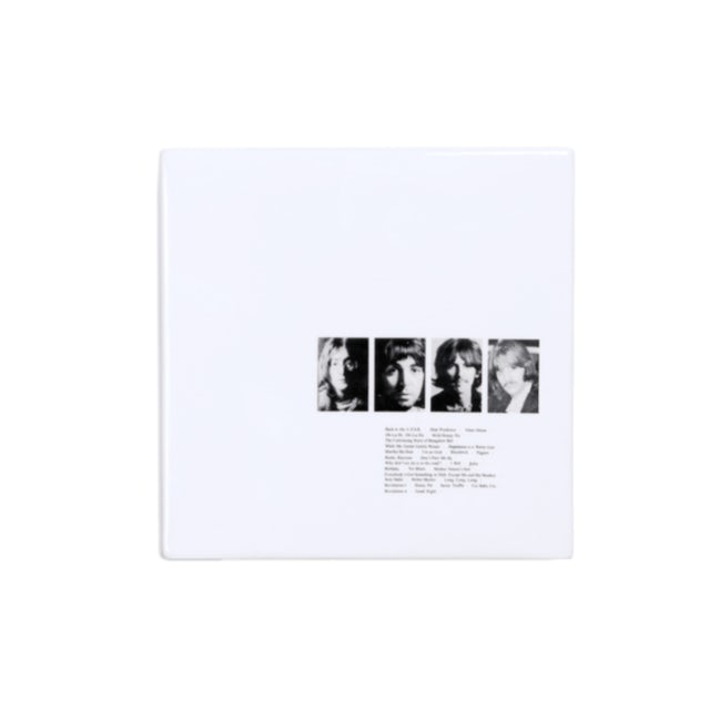 The Beatles (White Album) Limited Edition Numbered Ceramic Coin Bank