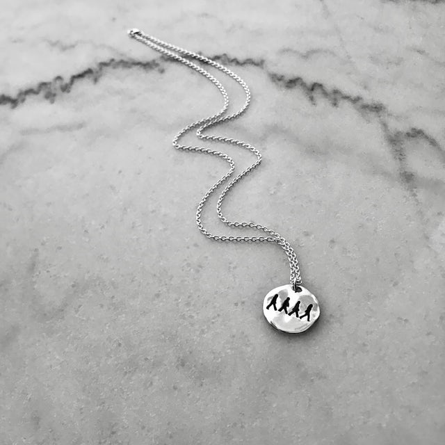 The Beatles Abbey Road Unisex Necklace
