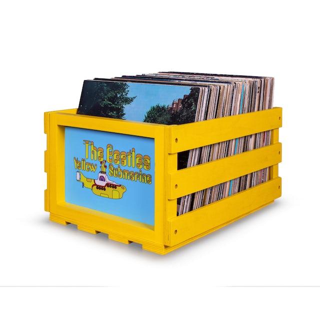 The Beatles Yellow Submarine LP Crosley Storage Crate (Vinyl)