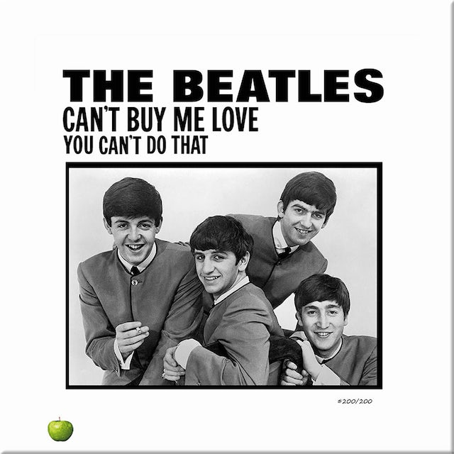 The Beatles Can't Buy Me Love Lithograph