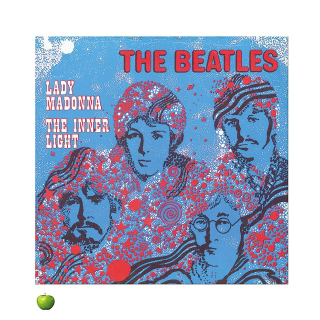 The Beatles Lady Madonna Version 2 Lithograph