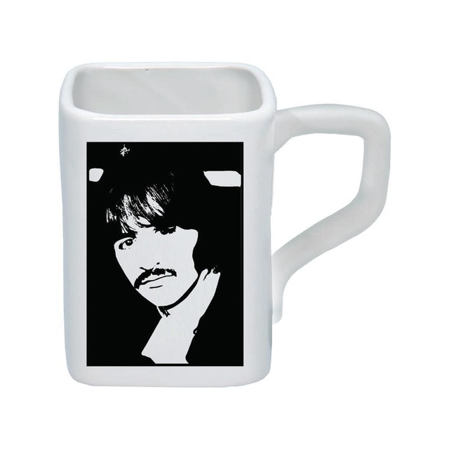The Beatles White Album 12 oz. Mug - Set of 4