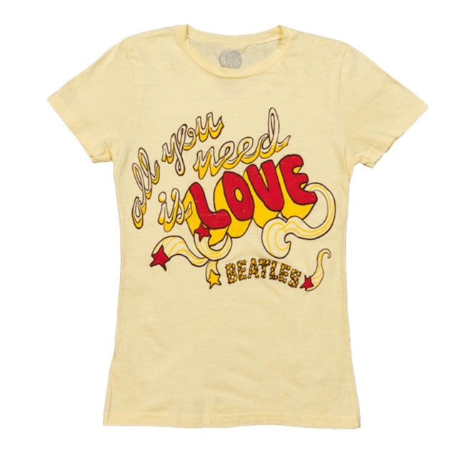 The Beatles All You Need Is Love Women's T-Shirt