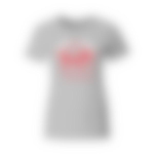 Happy Christmas Beatles Grey Juniors T-Shirt