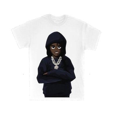 Lil Tjay Cartoon T-Shirt + True 2 Myself Digital Album Download