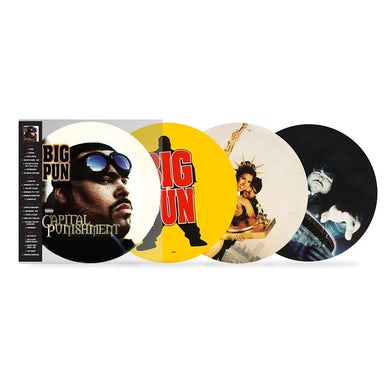 Loud Records Big Pun: Capital Punishment (20th Anniversary Picture Disc) 2-Disc LP (Vinyl)