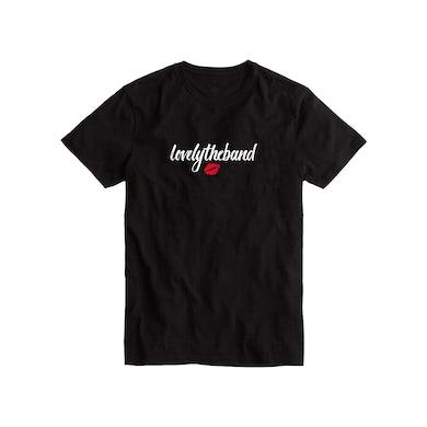 lovelytheband lips t-shirt