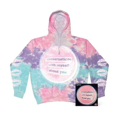 lovelytheband conversations with myself about you + Tie Dye Hoodie