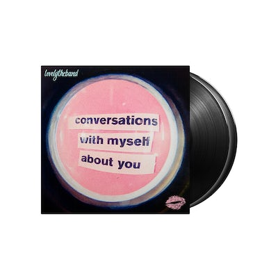 lovelytheband conversations with myself about you Black 2 LP (Vinyl)