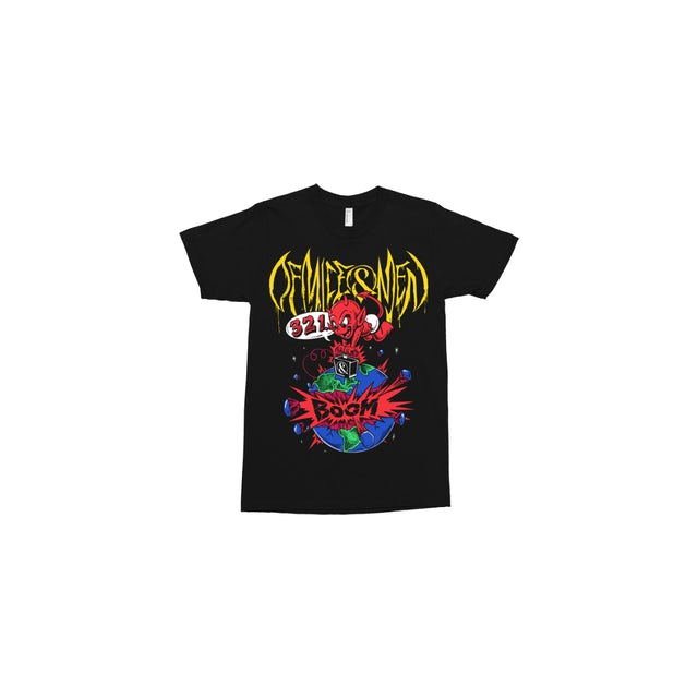 Of Mice And Men EARTHANDSKY 321 Boom Tee