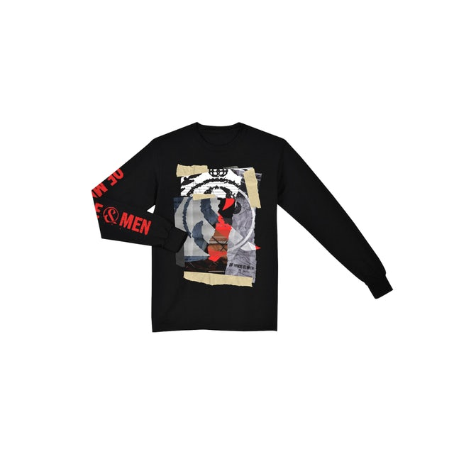 Of Mice And Men EARTHANDSKY 2019 Long Sleeve Tour Tee