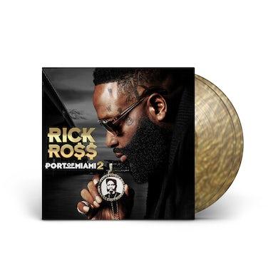 """""""Port of Miami 2"""" Translucent Gold Swirl Vinyl 2-LP"""