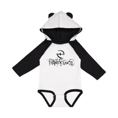 Evanescence Crayon Logo Hooded Onesie