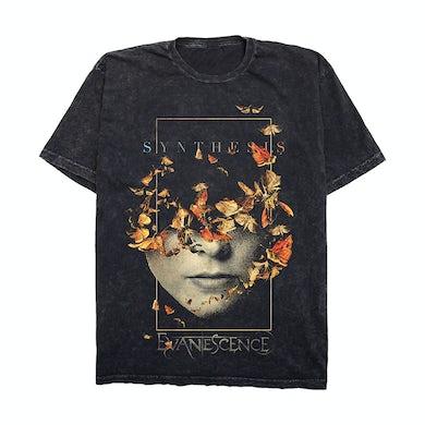 Evanescence Half Face Mineral Wash T-Shirt