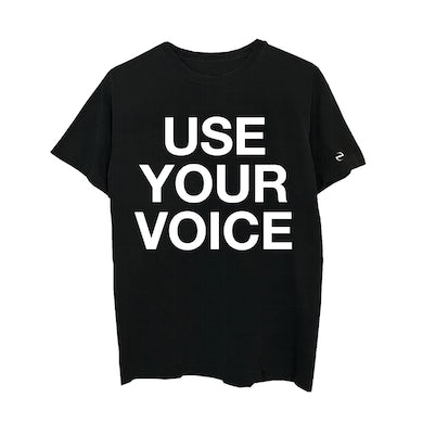 Evanescence Use Your Voice Black T-shirt
